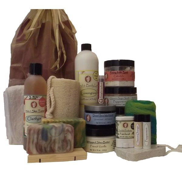 Softwater Soapworks SPA Gift Set
