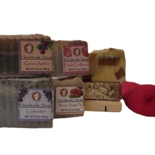 Softwater Soapworks 'Just For HER' Soap Gift Set