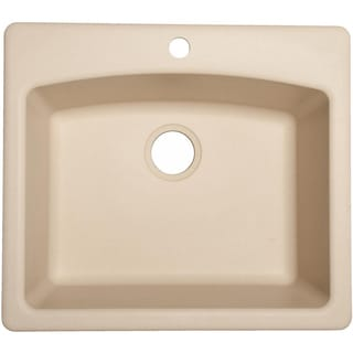 ESCH25229-1 Franke Granite Ellipse Single Bowl Undermount/Self-Rimming Sink