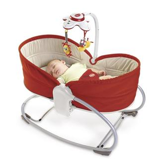 Tiny Love 3-in-1 Red Rocker Napper