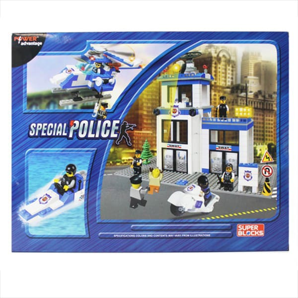 Power Advantage Special Police (SWAT) Blocks (460 Pieces)
