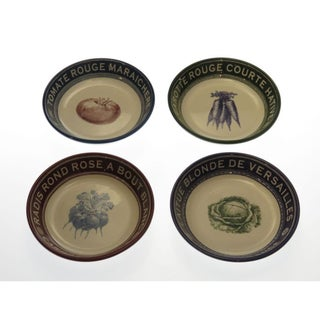 Certified International 'French Market' Assorted Soup/ Pasta Bowls (Set of 4)