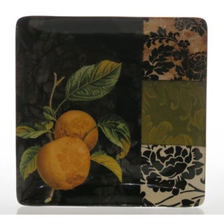 Certified International 'Damask Fruit' Square Platter