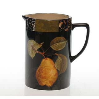 Certified International 'Damask Fruit' 2.25-quart Pitcher