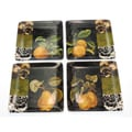 Certified International 'Damask Fruit' Assorted Dessert Plates (Set of 4)