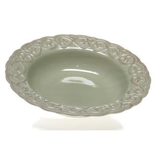 Certified International 'Adeline Green' Pasta/ Serving Bowl