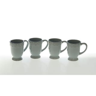 Certified International Adeline Blue Mug (Set of 4)