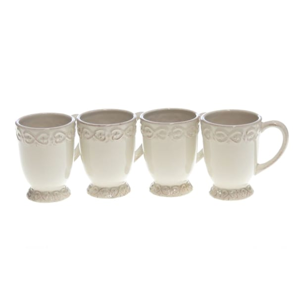 Certified International Adeline Ivory Mug (Set of 4)