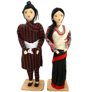 Newar Couple Dolls (Nepal)