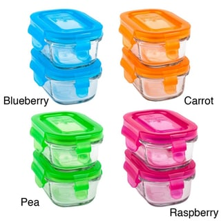 Wean Green Wean Tub 5-ounce Glass Food Containers (Pack of 2)