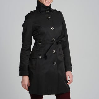 Via Spiga Women's Tie Belted Trench Coat