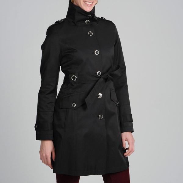 Via Spiga Women's Tie Belted Trench Coat