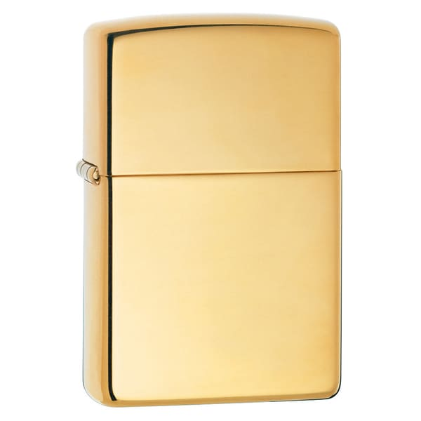 Zippo Polished Brass Lighter