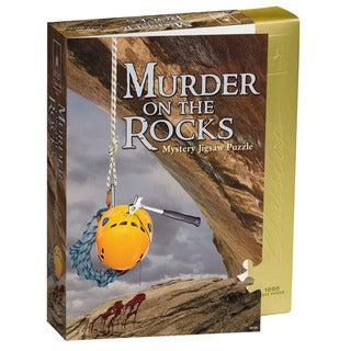 Murder on the Rocks Classic Murder Mystery 1000-Piece Jigsaw Puzzle