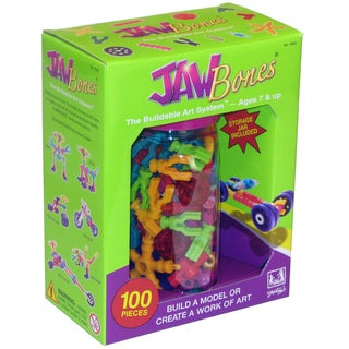Be Good Company Jawbones 100-piece Construction Toy Set