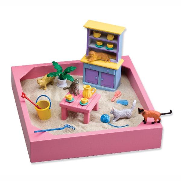 Be Good Company My Little Sandbox Kitty Tea Party Toy Set