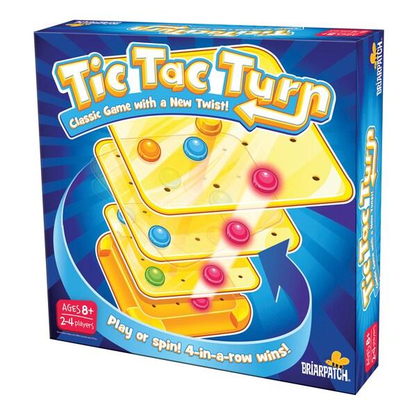 Tic-Tac-Turn Family Game