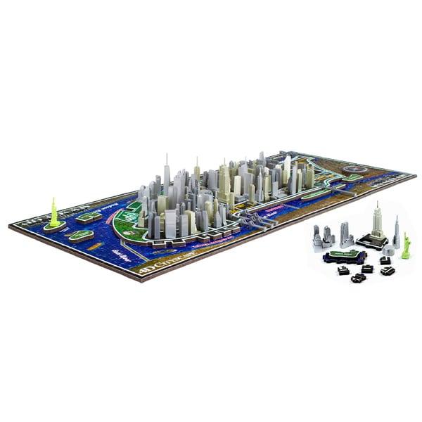 4D Cityscape Puzzle: New York