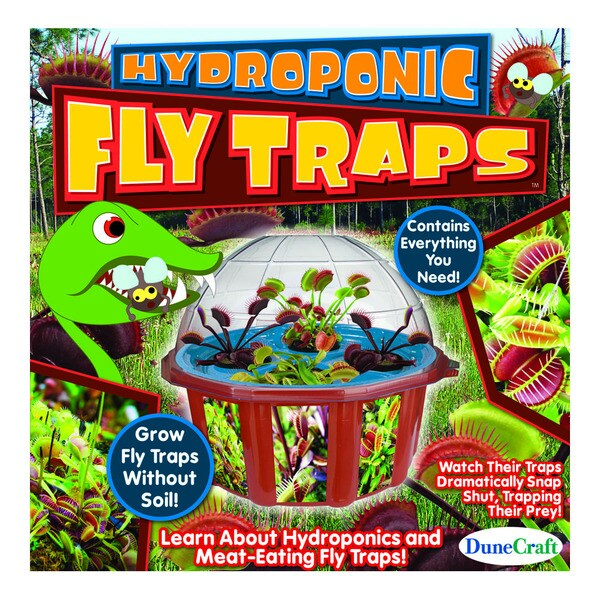 Dome Terrarium: Hydroponic Fly Traps