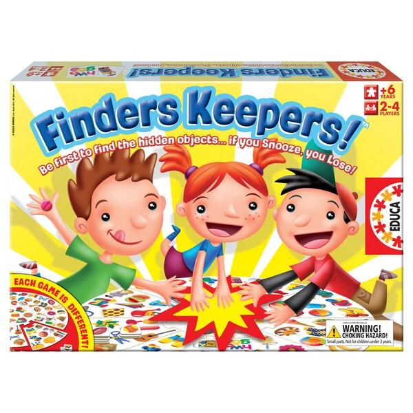 John N. Hansen Co. 'Finders Keepers' Board Game