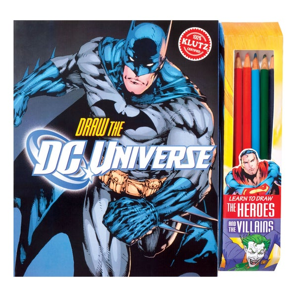 Draw the DC Universe Drawing Book
