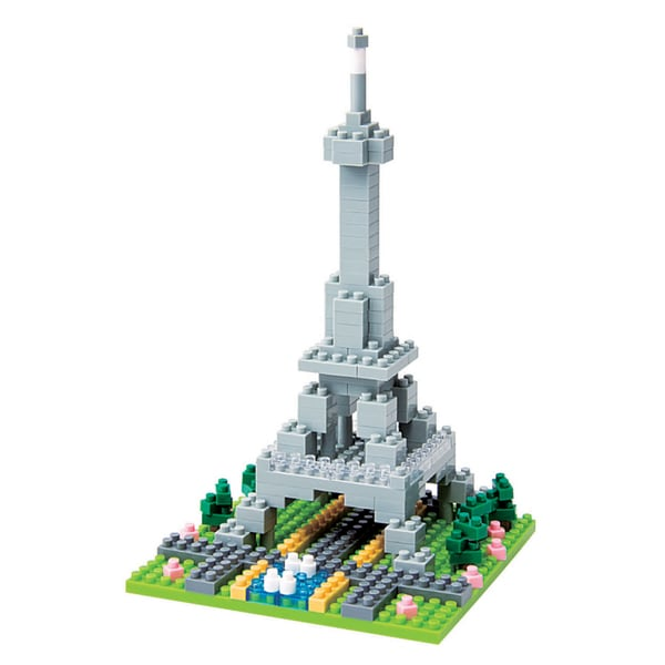 nanoblock Sites to See Level 1 - Eiffel Tower: 200 Pcs