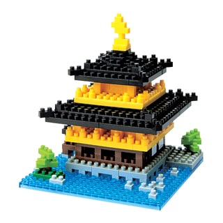 nanoblock Sites to See Level 2 - Kinkaku-ji: 370 Pcs