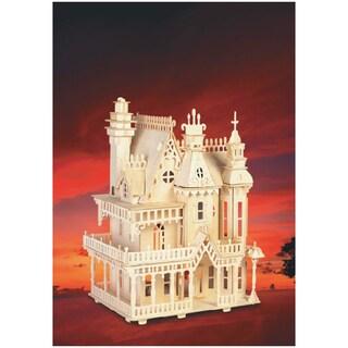 Fantasy Villa Wood 3D Puzzle