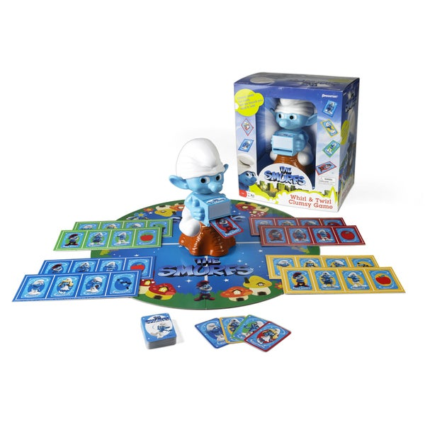 The Smurfs Whirl and Twirl Clumsy Game