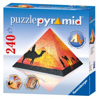 Ravensburger Sunset in the Desert 240-piece Puzzle Pyramid