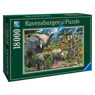 18,000-piece At the Waterhole Puzzle