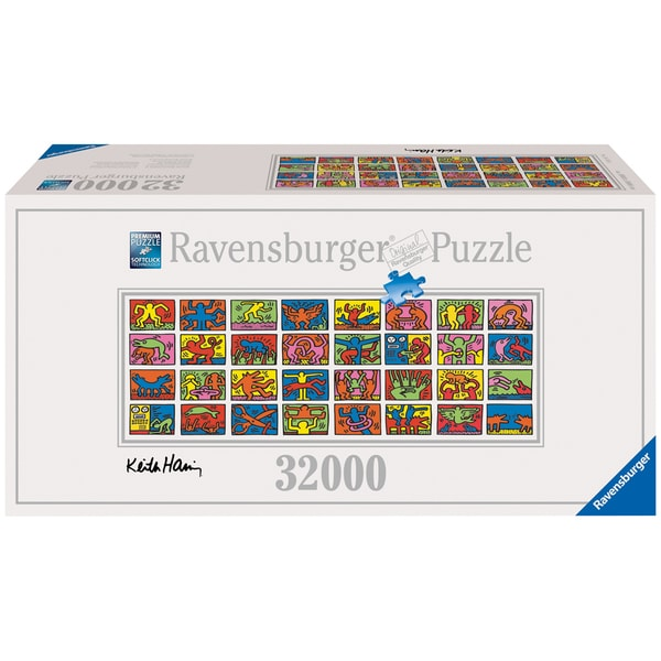 32,000-piece Keith Haring - Double Retrospect Puzzle