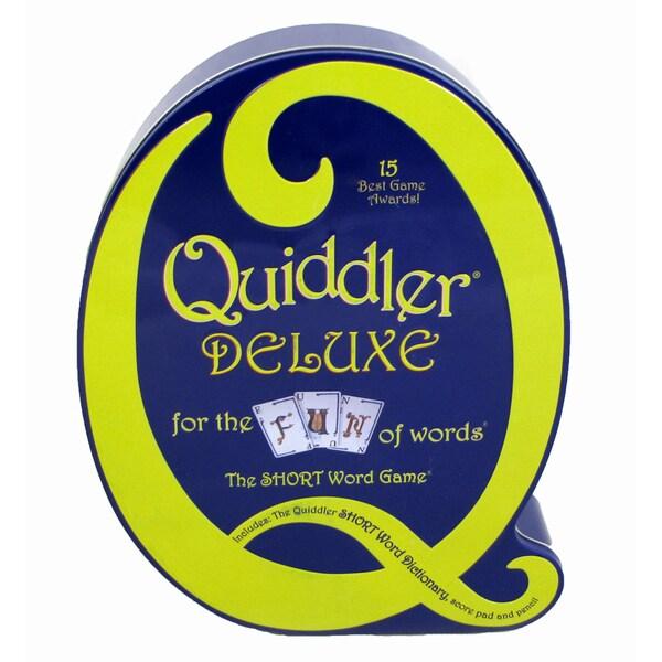 Quiddler Deluxe Game