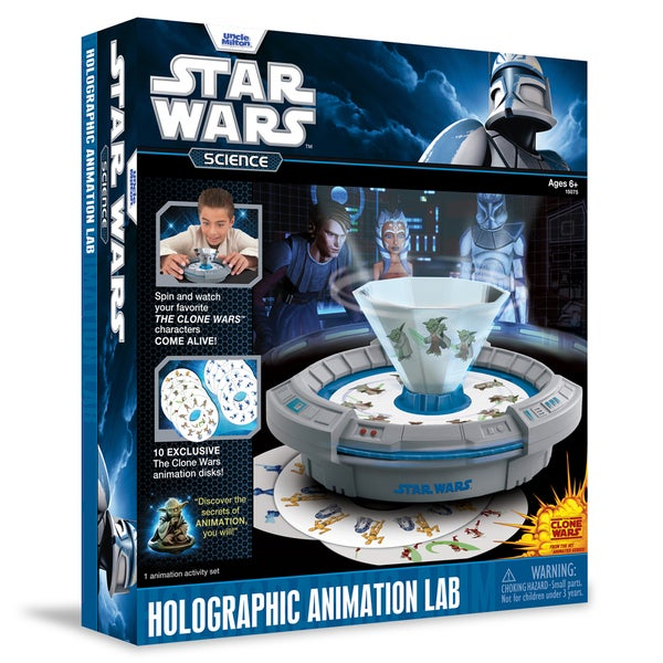 Star Wars Science: Holographic Animation Lab