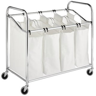 Sale alerts for  Whitmor Chrome 4-section Laundry Sorter - Covvet