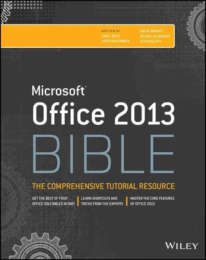Microsoft Office 2013 Bible (Paperback)
