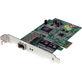 StarTech.com PCI Express Gigabit Ethernet Fiber Open SFP PCIe Network