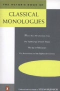 Actors Book of Classical Monologues (Paperback)