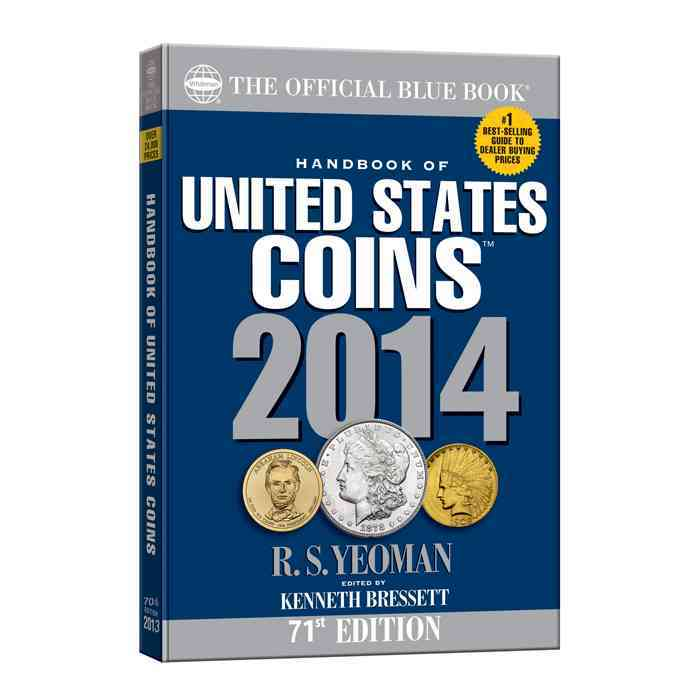 The Official Blue Book Handbook of United States Coins 2014 (Paperback)