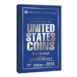 The Official Blue Book Handbook of United States Coins 2014 (Hardcover)