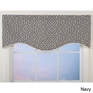 Greek Key Shaped Valance