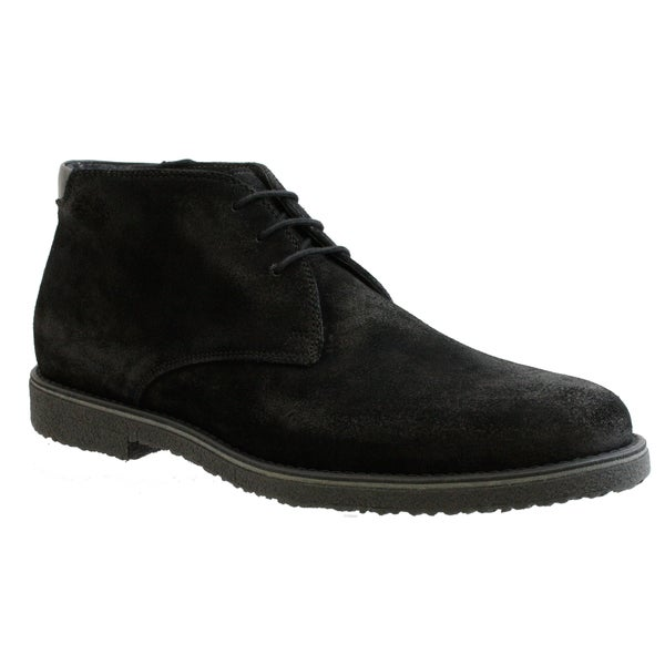 GBX Men's Black Suede Ankle Boots