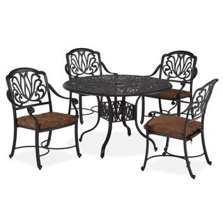 Floral Blossom 5-piece Dining Set
