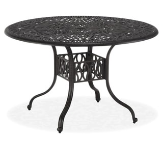 Floral Blossom 48-inch Round Dining Table