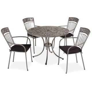 Glen Rock Marble 5-piece Dining Set