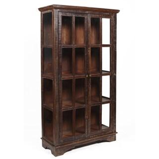 Bea Wooden Curio Cabinet