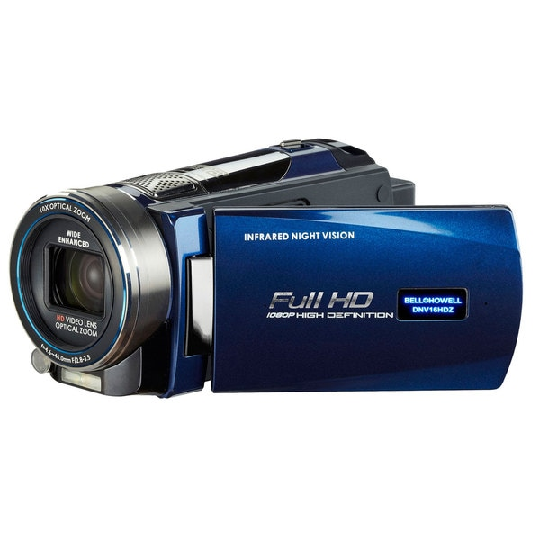 Bell + Howell Rogue DNV16HDZ-BL Full 1080p HD Night Vision Digital Video Camcorder