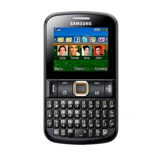 Samsung Ch@t E2220 Chat 220 GSM Unlocked QWERTY Cell Phone - Black