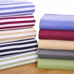 Cozy Nights Polar Fleece Blanket and Throw Set