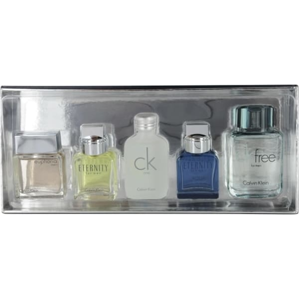 Calvin Klein Variety Men's 5-piece Fragrance Set